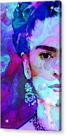 Dreaming Of Frida - Art By Sharon Cummings Acrylic Print