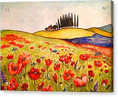 Dreaming Of Tuscany Acrylic Print