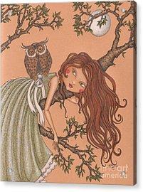 Dreaming Acrylic Print by Snezana Kragulj