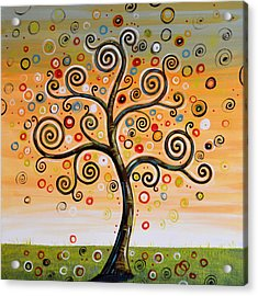 Dreaming Tree Acrylic Print