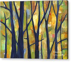 Dreaming Trees 2 Acrylic Print by Hailey E Herrera