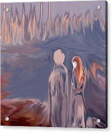 Dreams  #01 Acrylic Print by Viggo Mortensen