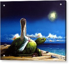 Dreams Before I Awake By Shawna Erback Acrylic Print by Shawna Erback