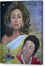Dreams Do Come True Whitney Acrylic Print by Arron Kirkwood