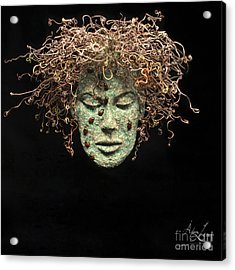 Dreams Of Order And Chaos Original Relief Wall Hanging Sculpture Acrylic Print