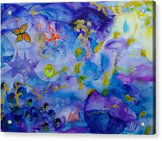 Dreams Acrylic Print by Phoenix Simpson