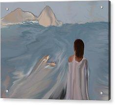 Dreams  #04 Acrylic Print by Viggo Mortensen