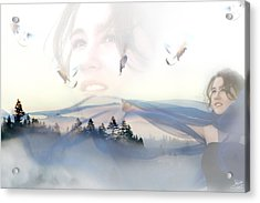 Dreams Soar Acrylic Print by Lisa Knechtel