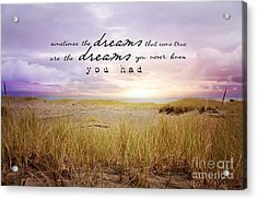Acrylic Print featuring the photograph Dreams by Sylvia Cook