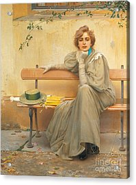 Dreams  Acrylic Print by Vittorio Matteo Corcos