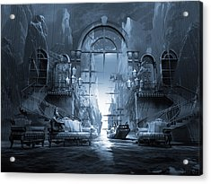 Dreamscape Reality Acrylic Print by George Grie