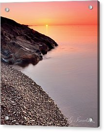 Dreamy Acrylic Print by Gregory Israelson