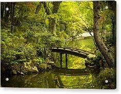 Dreamy Japanese Garden Acrylic Print