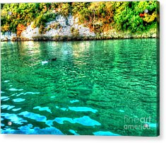 Acrylic Print featuring the photograph Dreamy River by Hanza Turgul