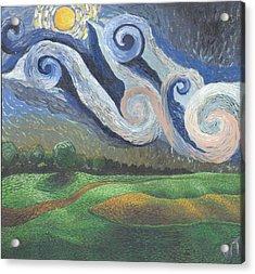 'dreamy Sky' Acrylic Print