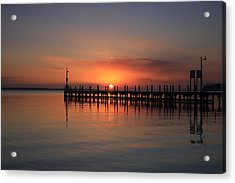 Dreamy Sunset Acrylic Print