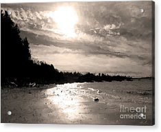 Acrylic Print featuring the photograph Dreamy Tides by Arlene Sundby
