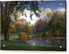Dreamy View Acrylic Print