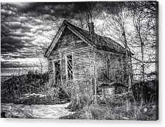 Dreary Dark And Gloomy Acrylic Print