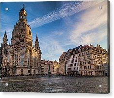 Dresden Frauenkirche Acrylic Print