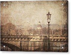 Dresden Acrylic Print by Jelena Jovanovic