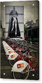 Dress For The Ride Acrylic Print