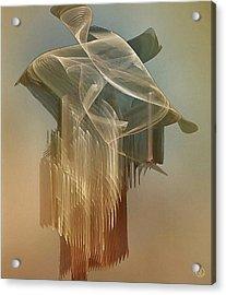 Dress From The 1920th Acrylic Print by Gun Legler