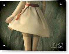 Dress Twirl Acrylic Print