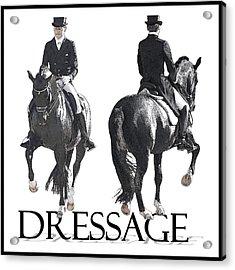 Dressage II Acrylic Print