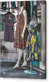 Dresses For Sale Acrylic Print by Brenda Bryant
