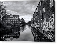 Driffield Refurbished Canal Basin Acrylic Print