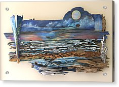 Drift Wood Art  Acrylic Print