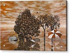 Drifters Acrylic Print by Betsy Knapp