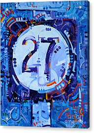 Drifting 27 Acrylic Print by Michael Ciccotello