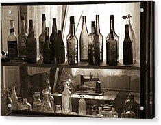 Drink And Sew Acrylic Print