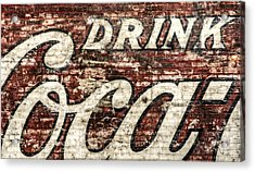 Drink Coca-cola 2 Acrylic Print by Scott Norris