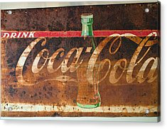 Drink Coca-cola Acrylic Print by Tikvah's Hope