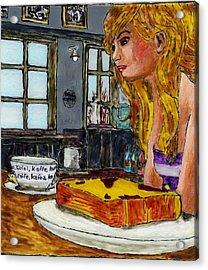 Drink Coffee Acrylic Print by Phil Strang