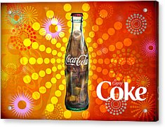 Drink Ice Cold Coke 4 Acrylic Print