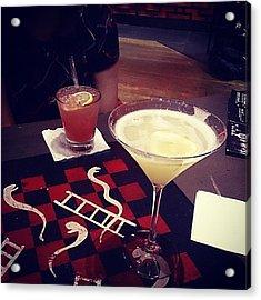 #drinks #cocktails With My #birthday Acrylic Print