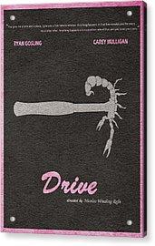 Drive Acrylic Print by Ayse Deniz