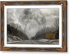Drive  Acrylic Print by Betsy Knapp