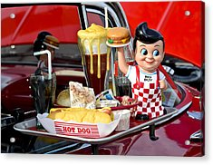 Drive-in Food Classic Acrylic Print by Carolyn Marshall