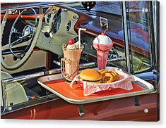 Drive-in Memories Acrylic Print by Kenny Francis