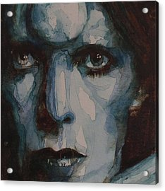 Drive In Saturday Acrylic Print by Paul Lovering