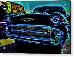 Drive In Special Acrylic Print by Lesa Fine