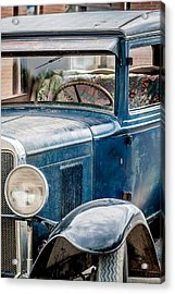 Drive Into The Past With A Chevy Acrylic Print