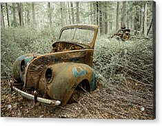 Drive To The Past Acrylic Print by Sara Hudock