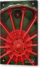 Drive Wheel Acrylic Print by Paul W Faust -  Impressions of Light