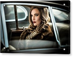 Driving The Diva To The Event.... Acrylic Print